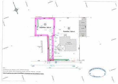 TERRAIN CONSTRUCTIBLE EAUBONNE - 250 m2