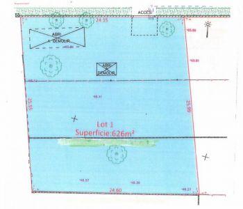 Terrain Ermont 626 m2