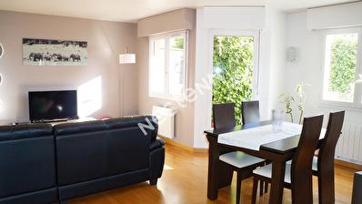 Appartement Sannois 3 pieces 67 m2 avec jardin 60 m2 centre-ville