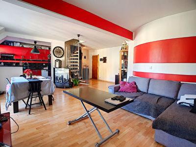 Appartement DUPLEX Sannois 4 pieces 73.71 m2 - 2 chambres - 2 balcons - parking sous-sol - ascenseur