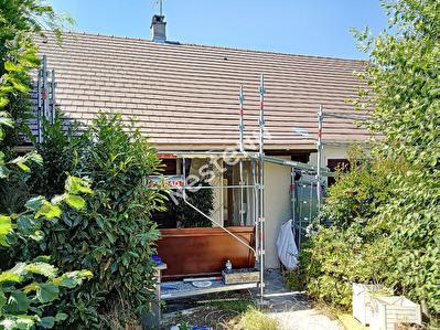 Maison plain-pied Argenteuil Coteaux 5 pieces 96 m2 + terrasse, sous-sol total et jardin