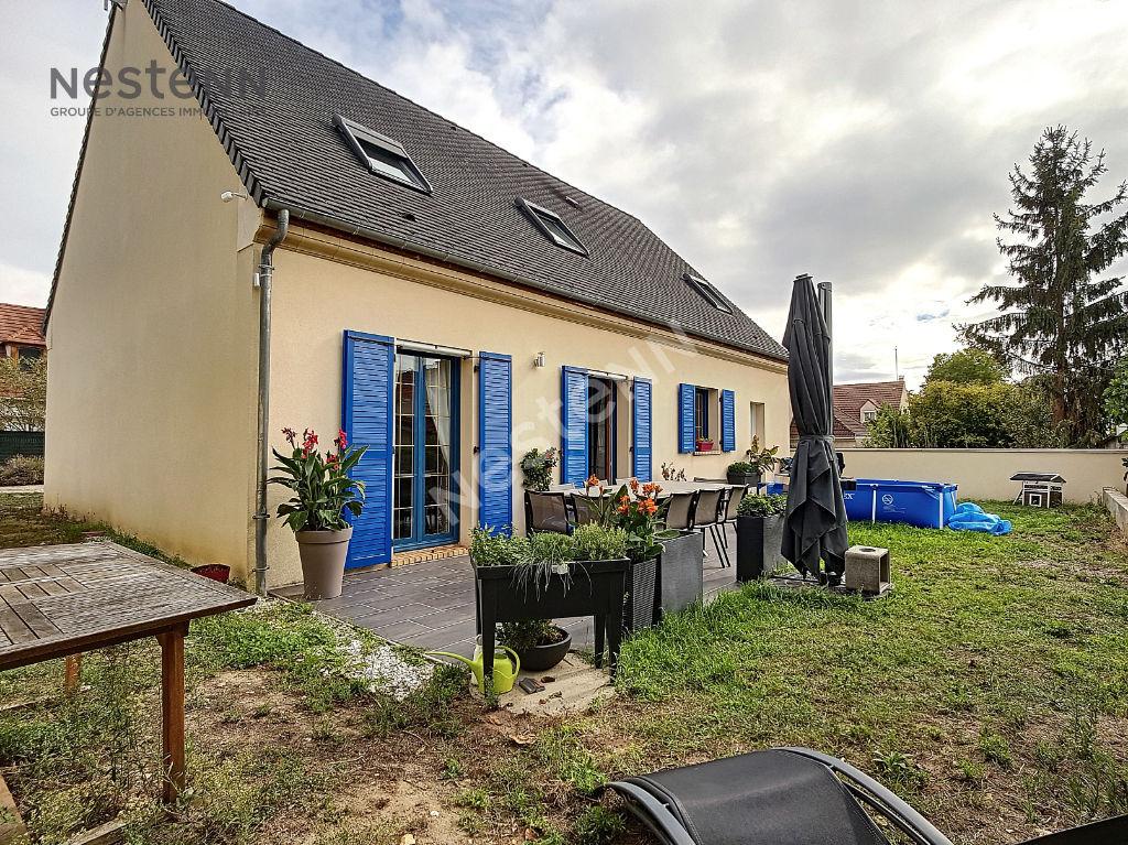 Maison Ermont / 131m2 habitable/ 150m² au sol/ 4 chambres / Garage Double / Jardin 420m²