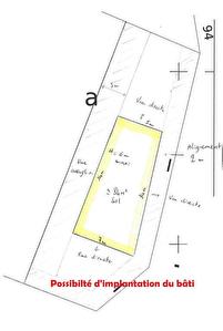 Cernay terrain constructible 349m2 CU operationnel
