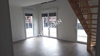 Appartement Cergy 3 pieces 64.80 m2