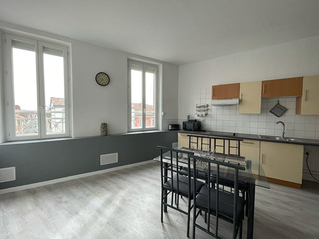 A vendre Montauban appartement en duplex 2 chambres proche centre-ville