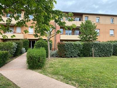 Appartement  T2 avec jardin a vendre Montauban