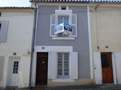 Maison, Fontenay Le Comte, 63m2