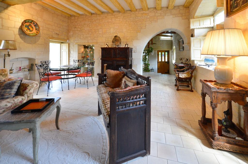vente maison de luxe 49400 saumur