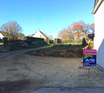 Bignan terrain a vendre d'environ 210 m2