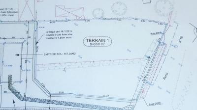 Terrain Bruz 550 m2