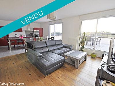 NOUVEAUTE - Appartement Chartres De Bretagne Dernier etage sud ouest 4 pieces 92.5 m2 - Terrasse environ 62m2 - Ascenseur