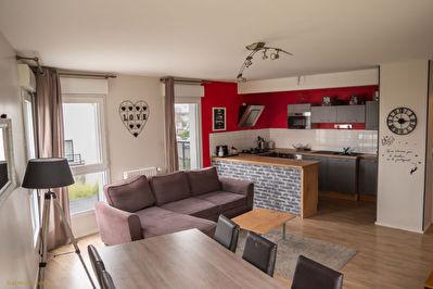 Appartement Bruz 4 pieces 85 m2 - Exposition OUEST - Proche gare