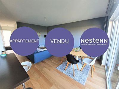 A vendre appartement Melesse 3 pieces 62 m2 avec 56 m2 jardin privatif