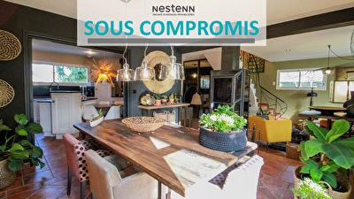 NOUVEAUTE Maison contemporaine Bruz 7 pieces 145 m2  (168m2 au sol) - Quartier residentiel  - Terrain SUD 1036m2