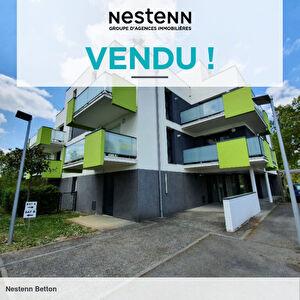 Appartement Betton 2 pieces 40.31 m2, balcon, stationnement exterieur