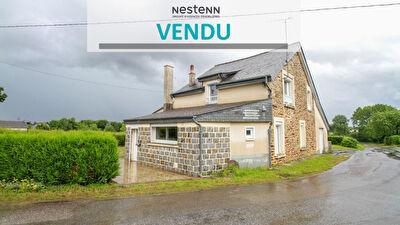 Maison A RENOVER en pierre - Bruz 5 pieces 93 m2 (+ 67 m2 possibles) - Terrain 730 m2