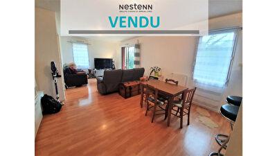 A vendre appartement rez-de-jardin 3 pieces 67 m2 et 70 m2 de jardin