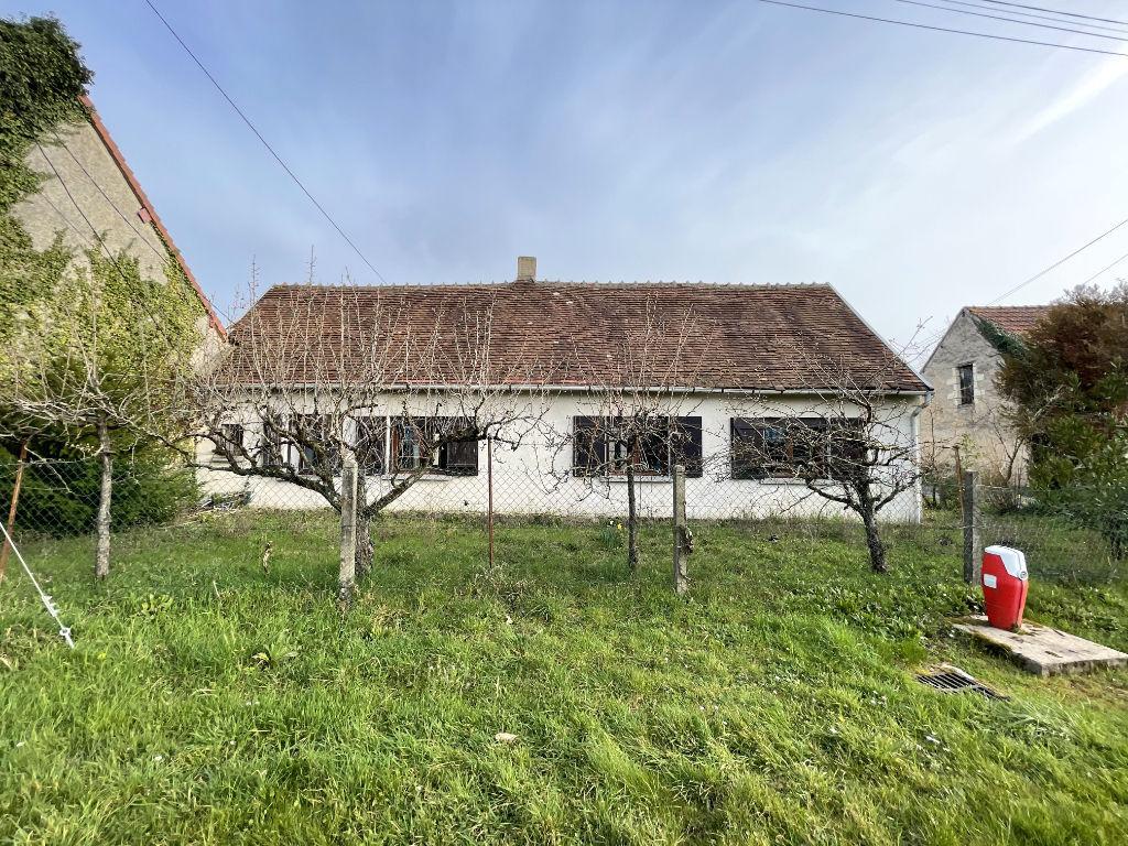 Maison de plan-pied type longère dans un hameau au calme - VAL-FOUZON INDRE 36