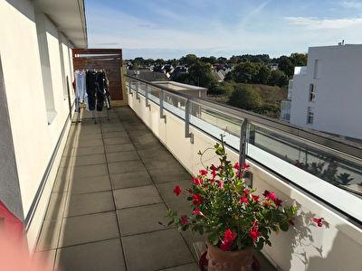 Appartement T2 Vannes / Sene - dernier etage - balcon - ascenseur