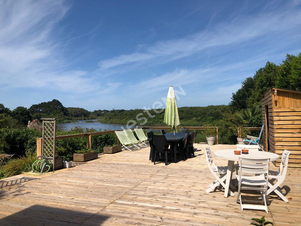 Maison Baden 5 chambres, un studio, vue Golfe du Morbihan