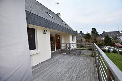 Maison Vannes 4 chambres, 130 m2, terrasse, sous-sol, secteur gare