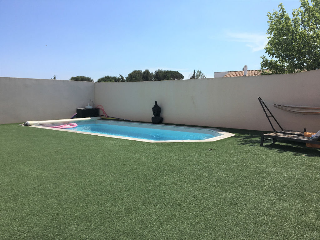 maison de type 4 avec piscine
