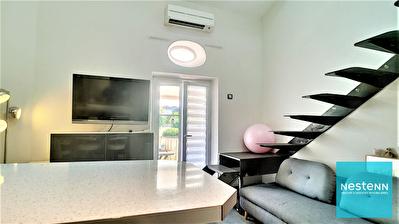 Proche Cannes  ce  beau 2 pieces 30 m2 en duplex avec balcon et place de parking