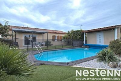 Maison recente avec piscine et garage proche Agen