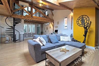 Agen hyper-centre - Appartement T3 de 105 m2 renove -