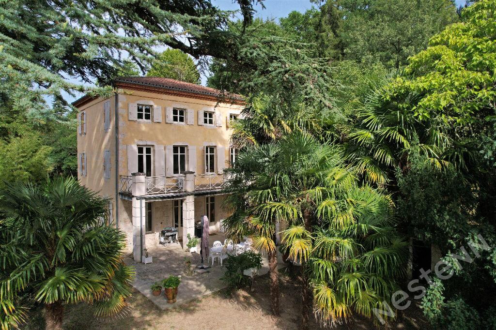 Maison Agen - Propriété en pierre de caractère avec piscine sur 1 hectare de parc.