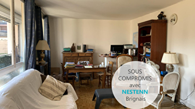 Oullins, appartement T3, RDC, a renover
