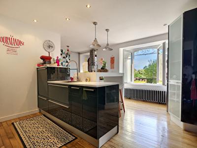 Maison Allassac 4 chambres - 1 bureau - dependance amenagee en studio - grand garage