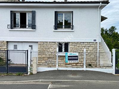 Brive La Gaillarde - Maison 94 m2 - 3 chambres - Jardin 400m2 cloture - double vitrage PVC
