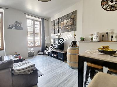 Tulle - LE TRECH - Renove - Cuisine ouverte - une chambre - un dressing - une salle d'eau - 1 wc separer