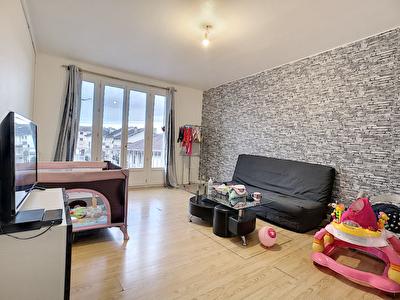 BRIVE - Appartement  traversant 3 chambres - 2 balcons - garage