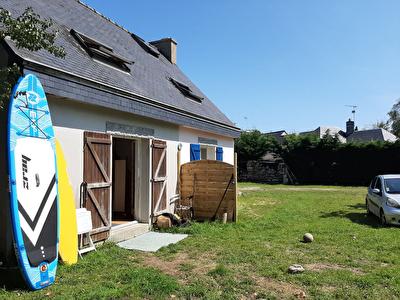Concarneau Maison secteur du Cabellou 53 m2 a 5 minutes des plages.