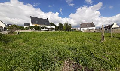 Concarneau terrain de 657 m2 proche du centre ville