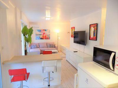 Le Cannet limite Cannes Studio de 33 m2 location meublee a l'annee