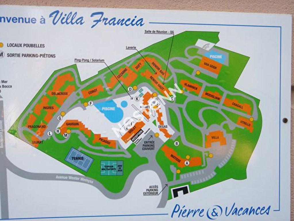 Cannes Villa Francia  2 pièces avec terrasse piscine parking