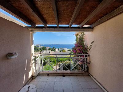 Appartement Cannes 3 pieces Vue Mer et Iles