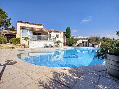 Maison : proche mandelieu 148m2 avec piscine au calme SANS VIS A VIS