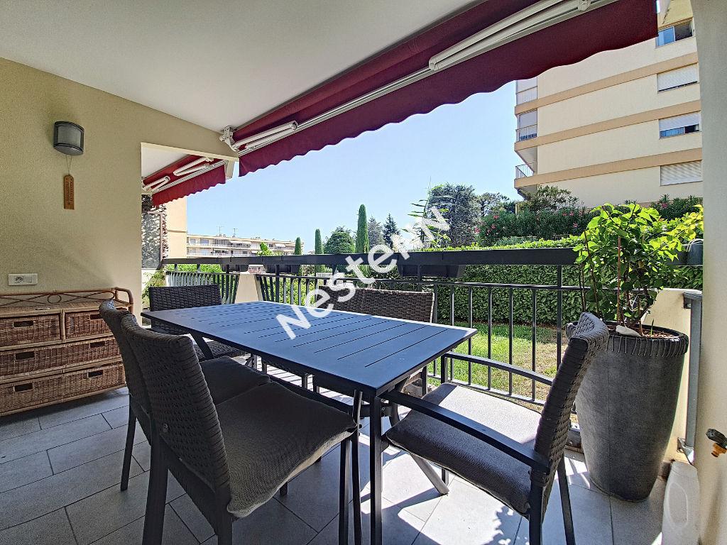 Mandelieu 4 pièces 90m² au calme absolu terrasse plein sud