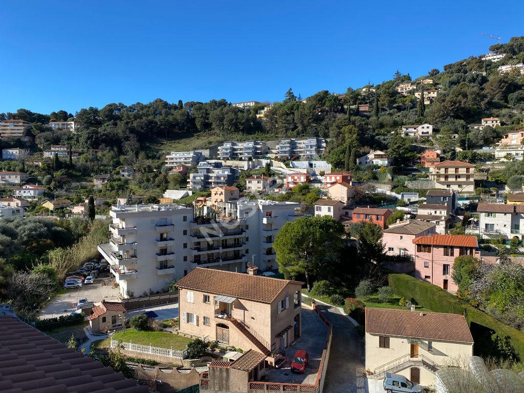 mn de Roquebrune cap Martin à la frontière studio dernier étage terrasse exposition ouest
