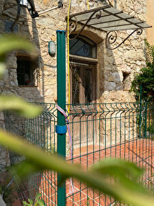 Maison en pierre situee a Gorbio a 10mn de Roquebrune cap Martin