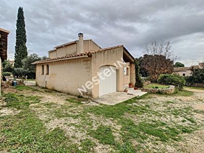 Maison sur Miramas d'environ 140 m2 avec garage sur environ 600 m2 de terrain