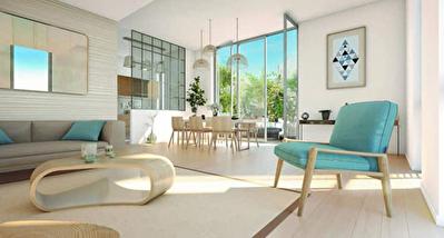 Appartement Neuf rez de jardin en Residence a Laxou