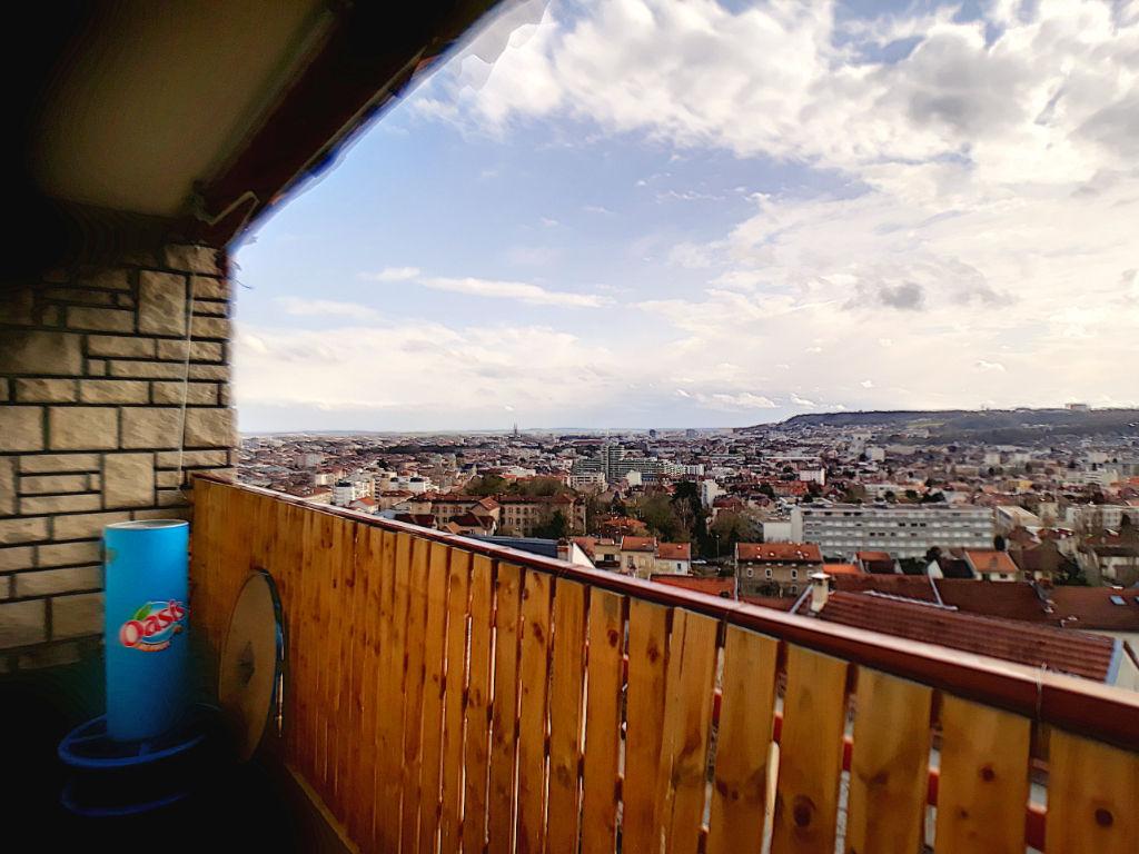 Nancy _F3  80 m² dernier étage avec Balcon et Parking