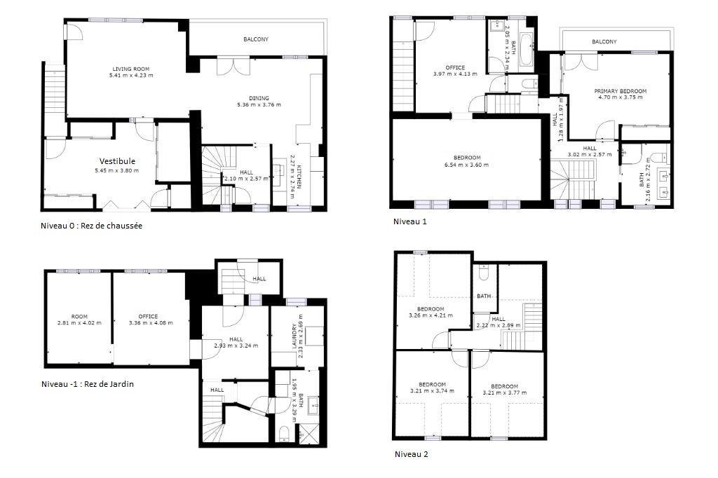 Maison Malzeville 7 pièces de 245 m²