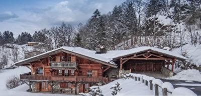 A vendre - Megeve - Mont d'Arbois - magnifique chalet 10 pieces 255 m2