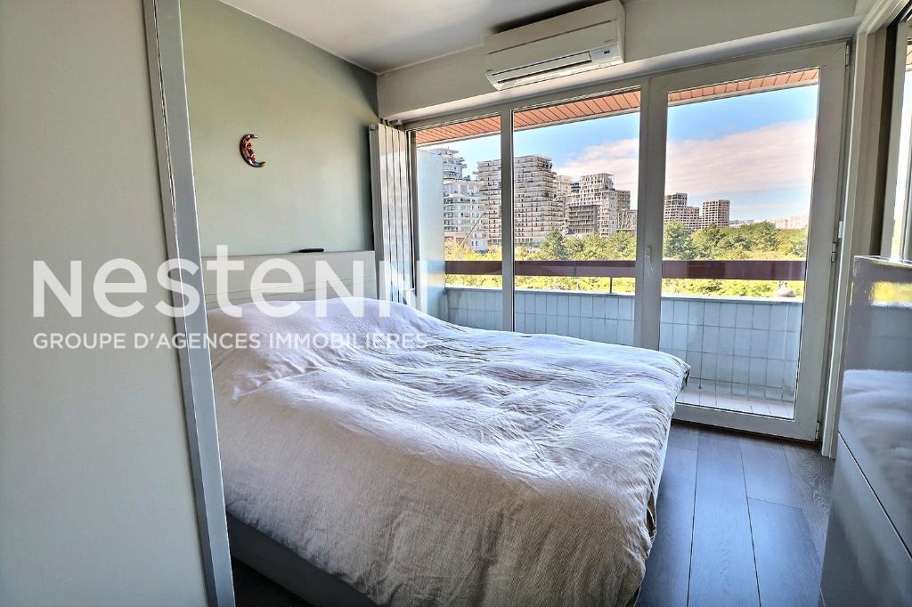 Appartement à vendre 2 pièces 41m² avec balcon -Batignolles - vue sur parc